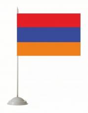 Настольный флаг Республики Армения фото