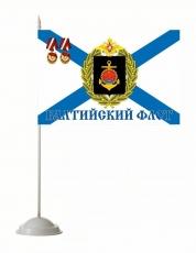 Настольный флажок «Балтийский флот» фото