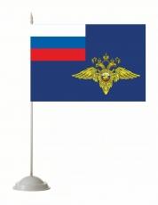 Флажок настольный МВД фото