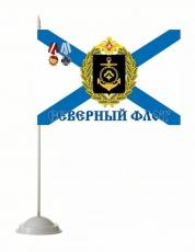 """Флажок настольный """"Северный флот"""" фото"""