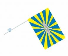 Флаг на машину с кронштейном ВВС РФ фото