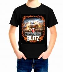 Футболка детская World of Tanks Blitz фото