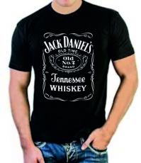 """Футболка стрейч """"Jack Daniels"""" фото"""