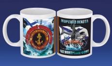 Кружка Морская Пехота Черноморский флот фото