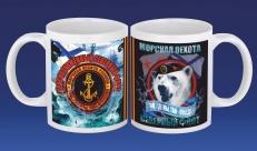 Подарочная кружка Морская Пехота Северный флот фото