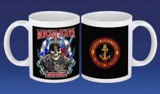 Кружка Морская Пехота с черепом фото