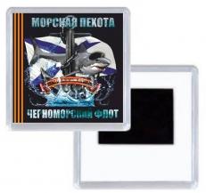 Магнитик Морская Пехота Черноморский Флот фото