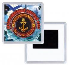 Магнитик Морпеху Северного флота фото
