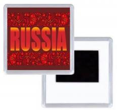 Магнитик RUSSIA фото
