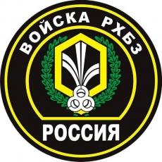 Наклейка «Войска РХБЗ» фото