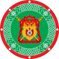 Наклейка «Знамя Сибирское Казачье войско» фото