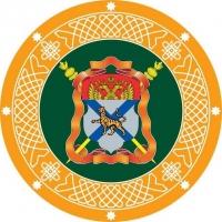 Наклейка «Знамя Уссурийское Казачье войско»