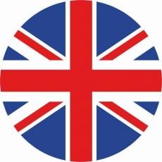 Наклейка «Флаг Великобритании» фото