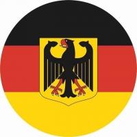 Наклейка «Флаг Германии»
