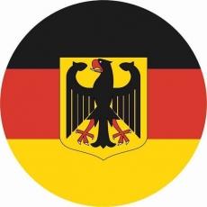 Наклейка «Флаг Германии» фото