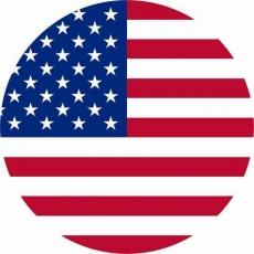 Наклейка «Флаг США» фото