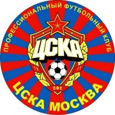 Наклейка для болельщиков «ФК ЦСКА» ВВС фото