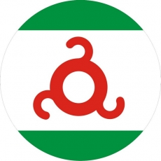 Наклейка «Флаг Ингушетии» фото