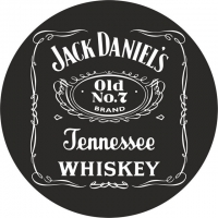 Наклейка «Jack Daniels»