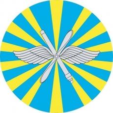 Наклейка «ВВС РФ» фото