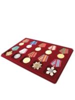 Планшет на 5 медалей и 5 орденов