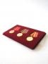 Планшет на 3 медали с пятиугольной колодкой