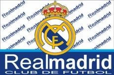 "Флаг ""FC Real Madrid"" фото"