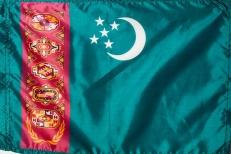 Флаг Туркменистана фото