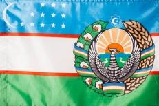 Флаг Узбекистана фото
