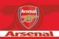 "Флаг футбольного клуба ""FC Arsenal"" (ФК Арсенал) фотография"
