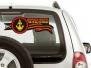 Автомобильная наклейка для морпехов