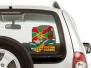 Автомобильная наклейка на День пограничника