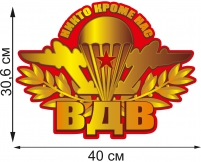 "Автонаклейка ""Символ ВДВ"""