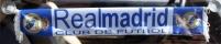 Шарфик на стекло автомобиля FC Real Madrid