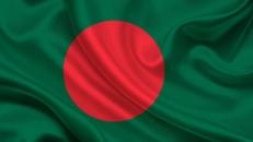 Флажок Бангладеша настольный фото