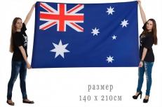 Большой флаг Австралии фото