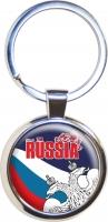 Брелок RUSSIA «Двуглавый орёл»