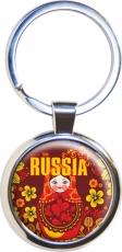 Брелок RUSSIA «Матрёшки» фото