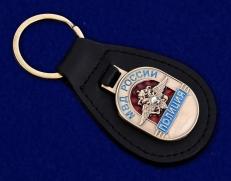 Брелок с жетоном в подарок сотруднику полиции фото