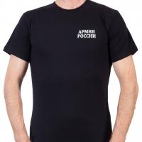 Черная футболка «Армия России»