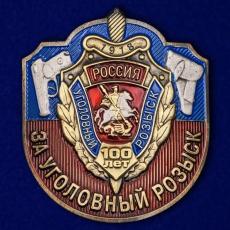 """Декоративная накладка """"За Уголовный розыск"""" фото"""