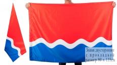 Двухсторонний флаг Амурской области фото