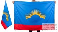 Двухсторонний флаг Мурманской области