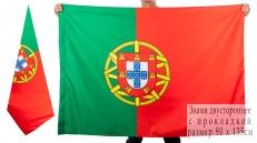 Двухсторонний флаг Португалии фото