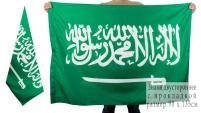 Двухсторонний флаг Саудовской Аравии
