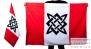 Двухсторонний флаг «Солнце славян»