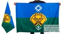 Двухсторонний флаг Сыктывкара