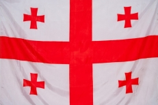 Флаг Грузия фото