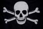 "Флаг ""Пиратский"" с костями фотография"
