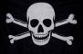 """Флаг """"Пиратский"""" с костями"""